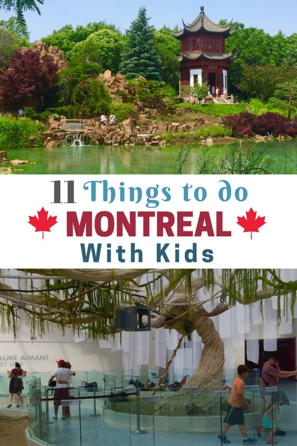 Visit Montreal for French-inspired family fun. Visit the world's largest insect museum, a top garden in North American and the best French food. Read on for more family fun in Montreal. #Canada #FamilyTravel #Montreal