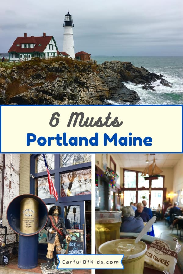Lighthouses and Lobsters are a must for Maine, especially Portland. Get all the best of both along with top chowder and baked goods. Also find top shopping. #Portland #Maine Where to eat in Portland Maine | What to do in Maine | Lighthouses near Portland Maine