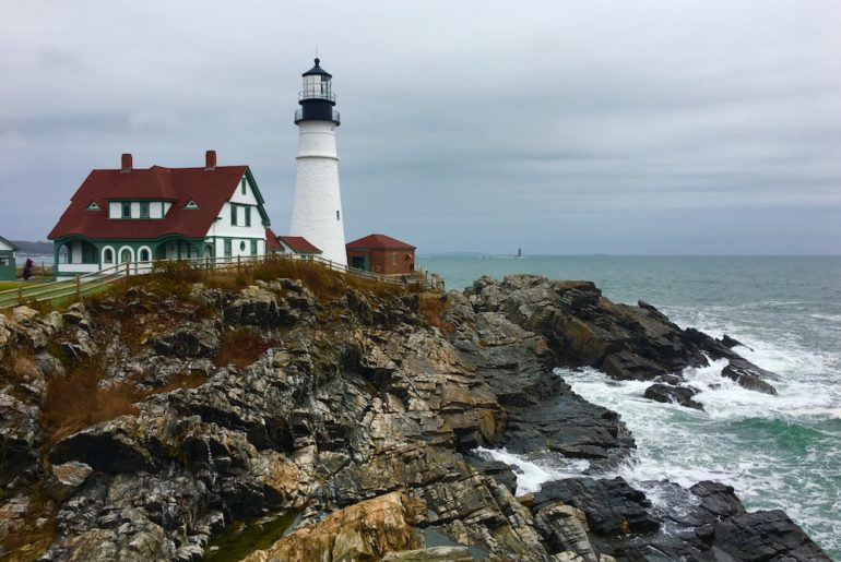 Portland Light. Things to do in Portland Maine with kids.