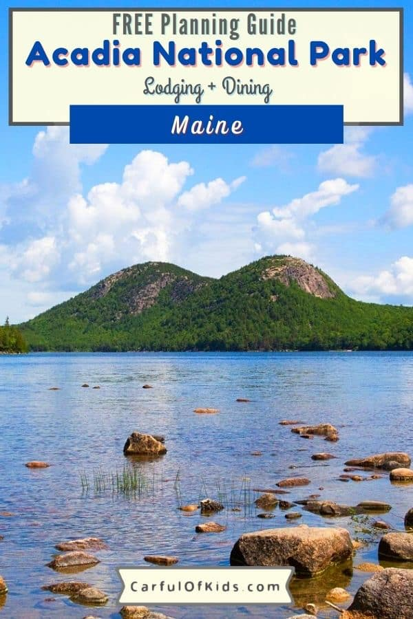 Visit Maine's Acadia National Park in One Day. See the highlights and use the free shuttle. Visit the beach, the pond and a lot more. Add Acadia National Park in Maine to your East Coast Road Trip. Got all the details to explore the oldest national park east of the Mississippi River. Find hiking, beaches and where to eat and more in this free planning guide to Acadia National Park. What to do in one day at Acadia National Park | Where to eat near Acadia National Park #Maine #NationalParks