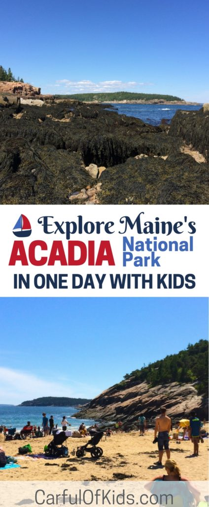 Add Acadia National Park in Maine to your East Coast Road Trip. Got all the details to explore the oldest national park east of the Mississippi River, like what to see and do in one day in Acadia National Park with kids. Find hiking, beaches and where to eat and more in this free planning guide to Acadia National Park. What to do in one day at Acadia National Park | Where to eat near Acadia National Park #Maine #NationalParks