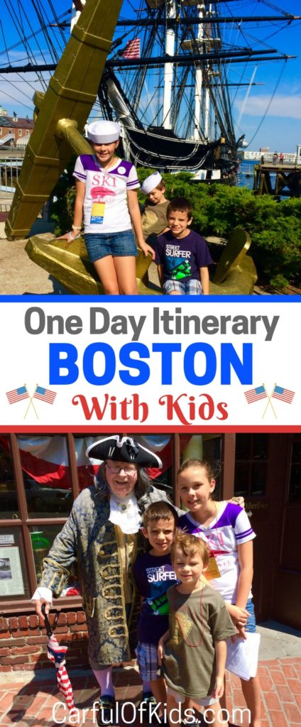 Grab the kids and find the Red Line for a day of fun on Boston's Freedom Trail. Stop by the top 16 spots that lead to the American Revolution and discover a few Boston icons as well. Find cheap eats for the kids and tips for hotels too in this One Day Itinerary.