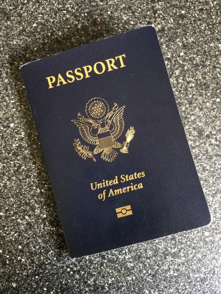 Ever get your passport stolen?
