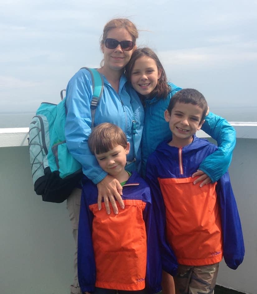 Northumberland Ferry. Prince Edward Island with kids.