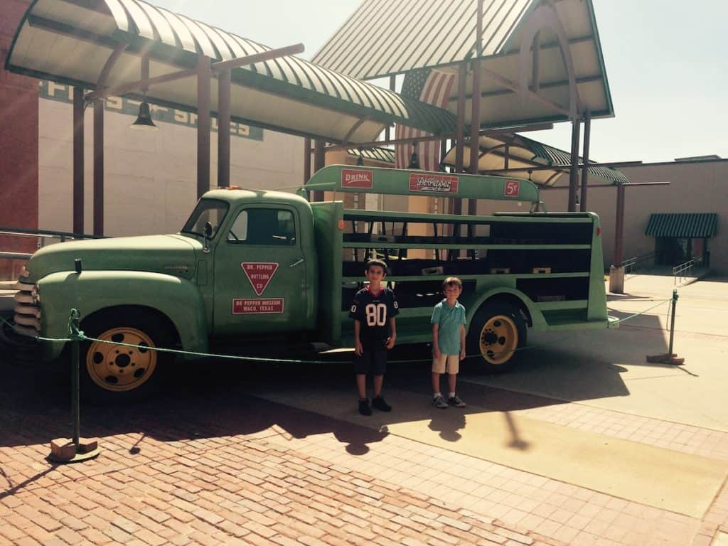 Dr. Pepper Museum. Things to do in Waco with kids.