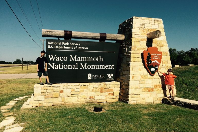 Waco Mammoth NPS site. things to do in Waco with kids.
