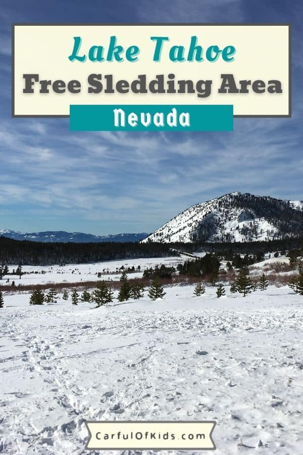 Check out this locals place to ski and snowshoe for free near Mt Rose on the North Shore of Lake Tahoe in Nevada. Find off-highway parking, a restroom along with lots of room to sled for free without restrictions on equipment. Fun for all ages and abilities just remember to bring your own gear. Where to go sledding near Lake Tahoe | Free sledding near Lake Tahoe | Free sledding on Tahoe's North Shore #LakeTahoe #free