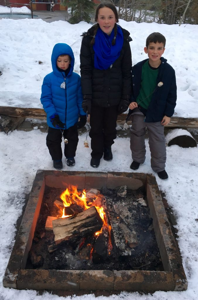 Does it get any better than S'mores after a day of skiing? Kits are available at Guest Services for $5.