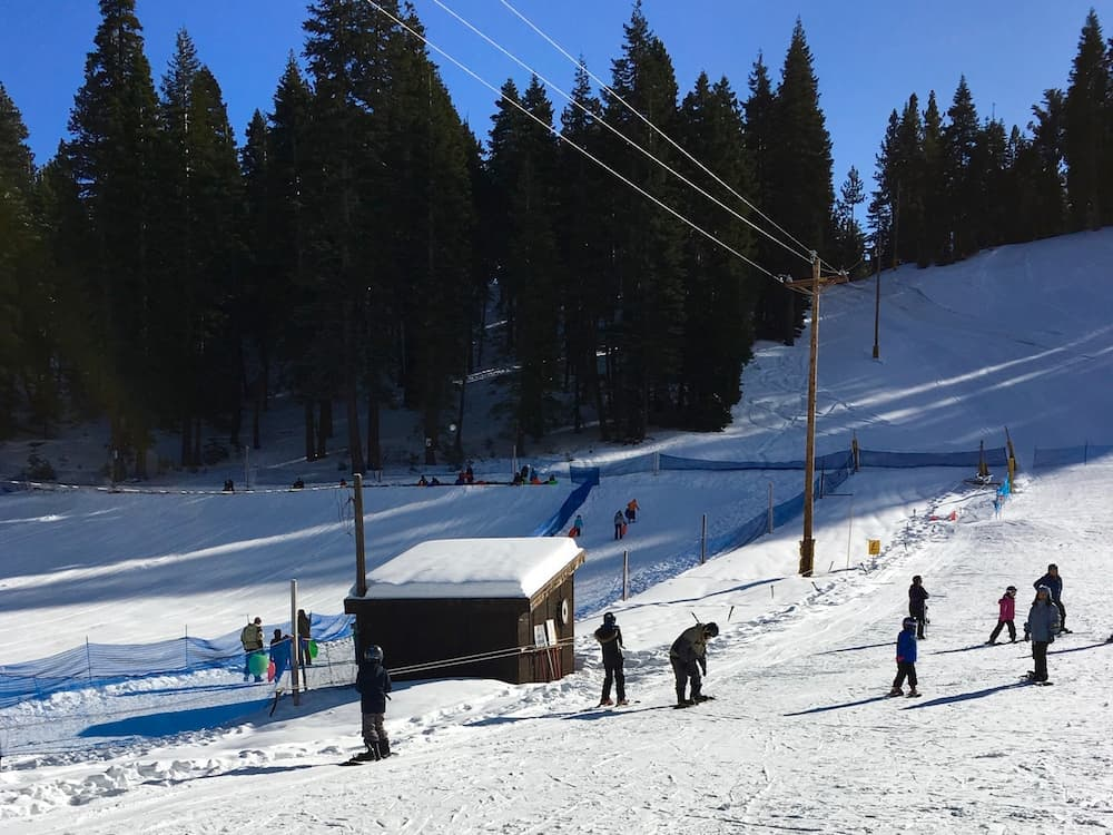 Granlibakken Tahoe Ski Resort for families