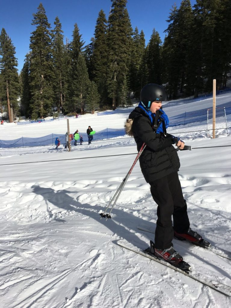 Granlibakken Tahoe Ski Resort for families.