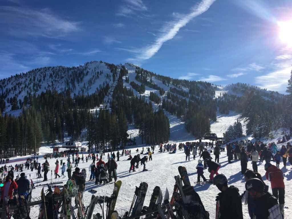 Mt. Rose Ski Resort is one of the fifteen Lake Tahoe Ski Resorts that offers runs for every level of skier.