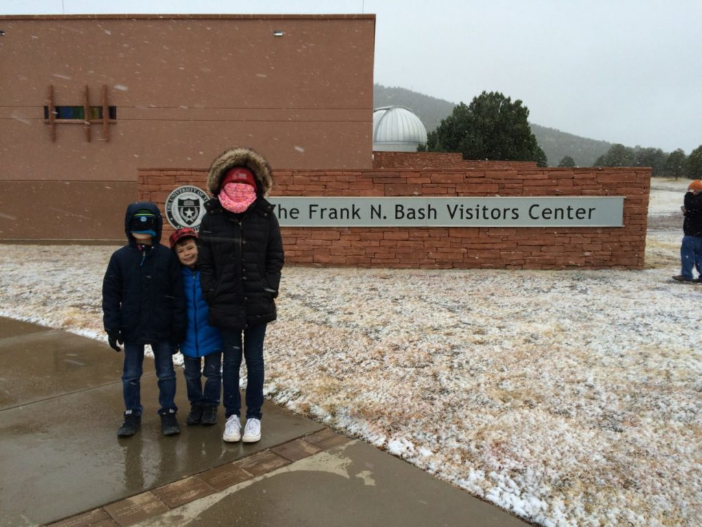 Mt. Locke are 15 degrees colder than in Fort Davis. McDonald Observatory, Star Party for kids,