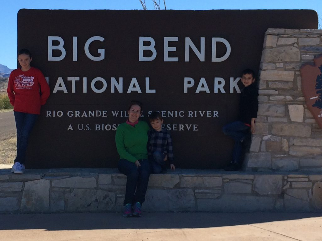Big Bend National Park in West Texas is a great destination for school-age kids.
