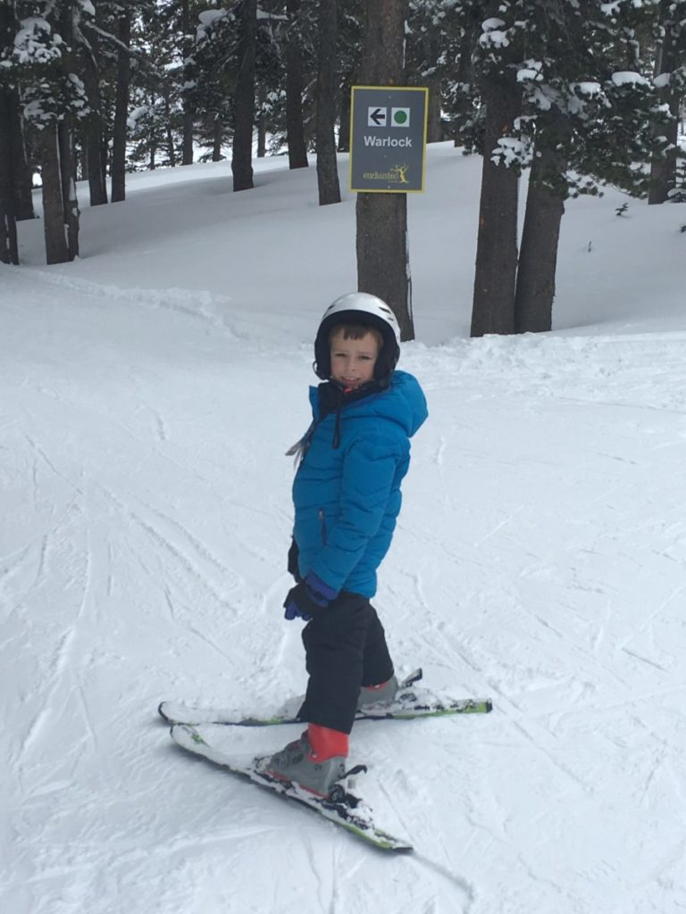 Skiing with an 8-year-old. Mt. Rose Ski Tahoe for Kids