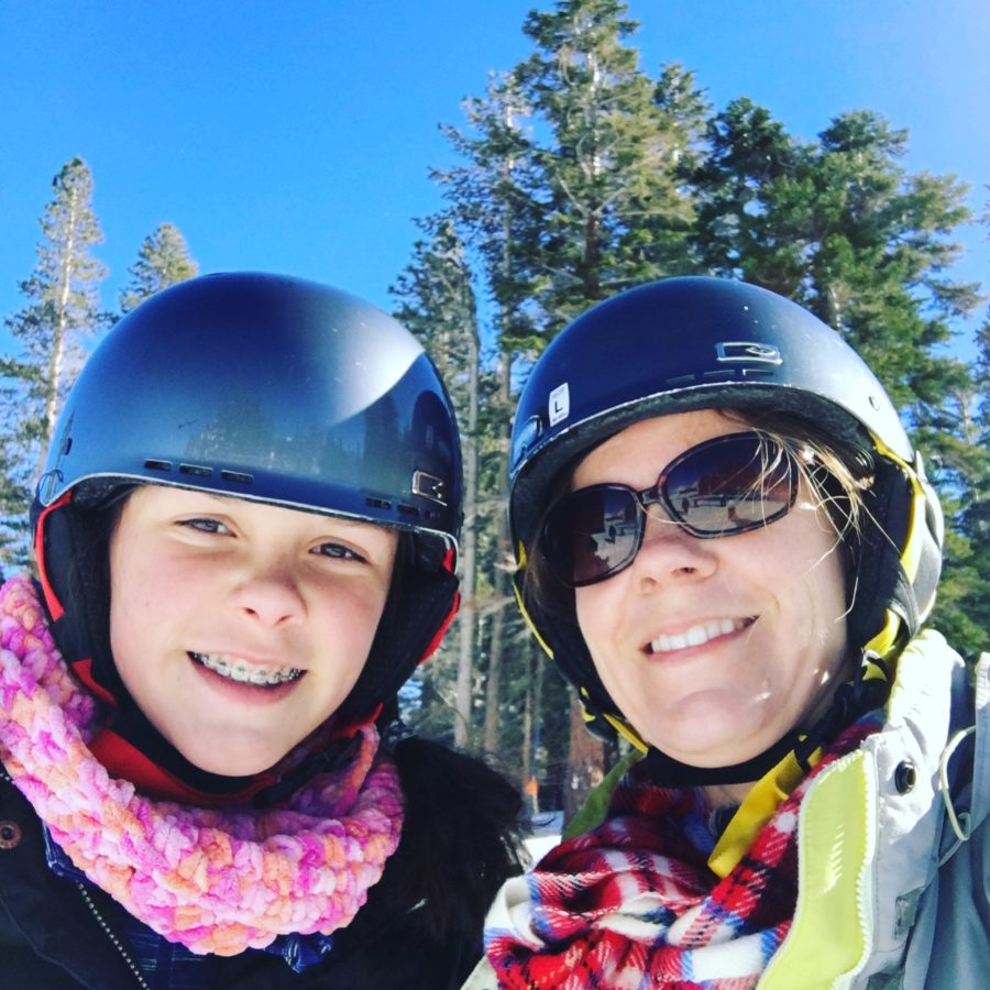 You can't beat weather like this to ski with your best girl. Lake Tahoe, Family Ski, Mt. Rose