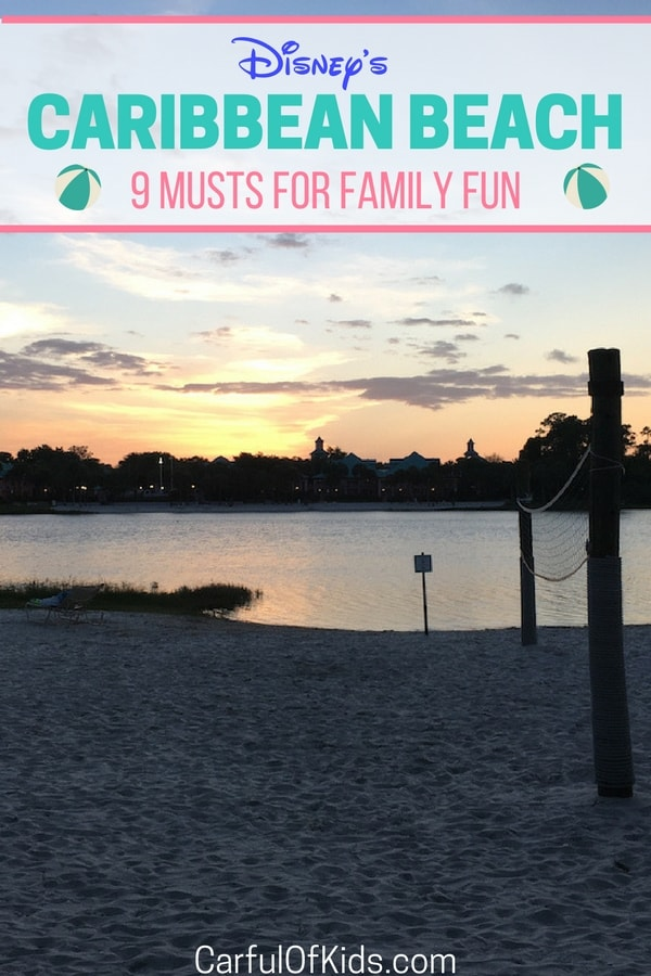 Not just a place to sleep! Disney's Caribbean Beach Resort got 9 super fun activities for families, especially pirates.