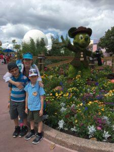 Ranger Mickey leads the ways as Disney celebrate the National Park Service's Centennial. Epcot's International Flower and Garden Festival