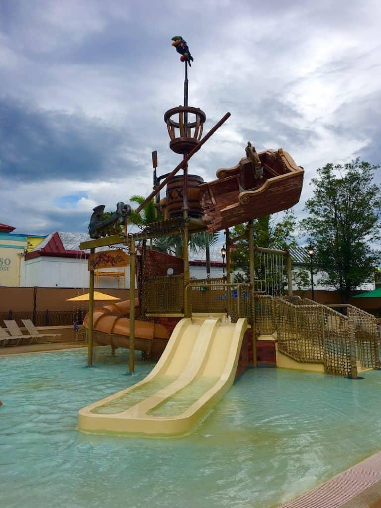 Caribbean Beach Resort for families.