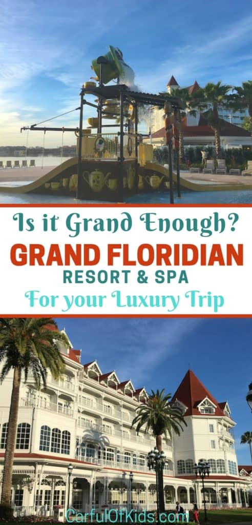Sure it's called the Grand Floridian Resort and Spa but for luxury travelers is it truly luxurious? See the details and make the call for your special trip to Walt Disney World in Florida.