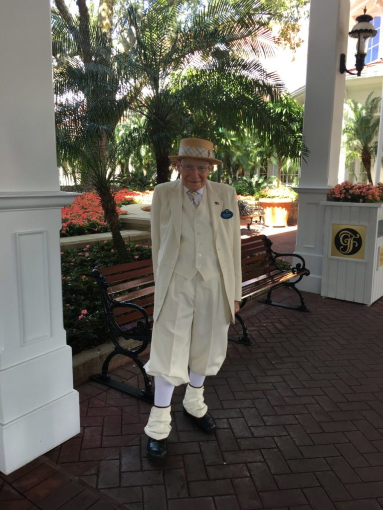 The Grand Floridan Resort at Disney World offers sophisticated service.
