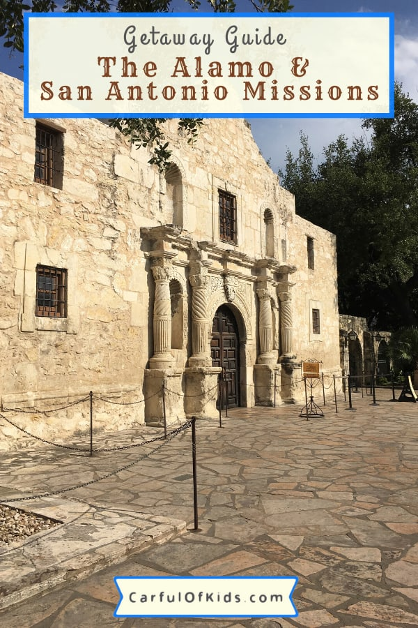 Tour the Alamo plus four more sites across San Antonio, Texas, to learn legendary Texas history on your next getaway. #NationalParks #Alamo #SanAntonio What to do at the Alamo