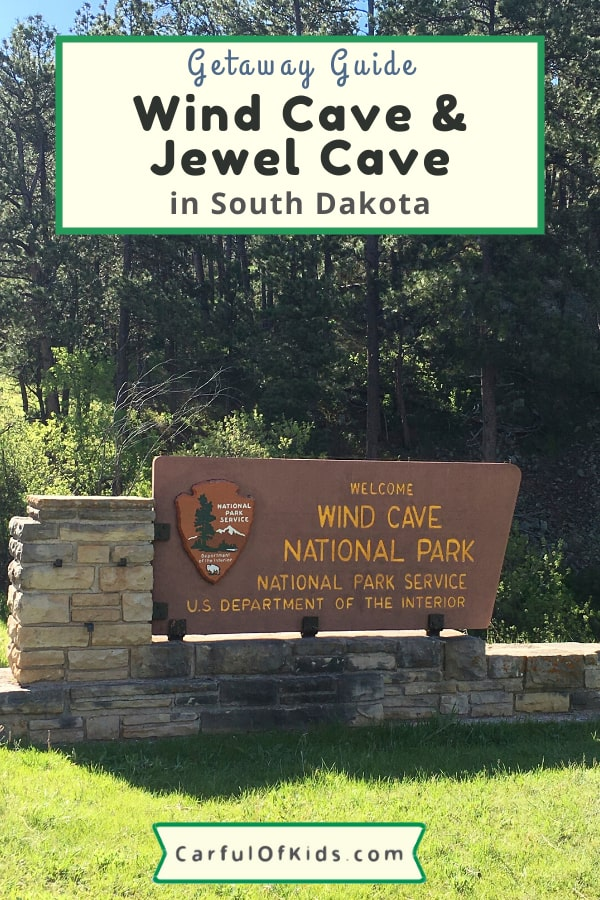 Add Wind Cave or Jewel Cave to your South Dakota itinerary when you visit the Black Hills. Got all the details for visiting. #NationalParks #NPS #SouthDakota What to do in Wind Cave National Park | What to do to at Jewel Cave National Monument | Where to go in South Dakota