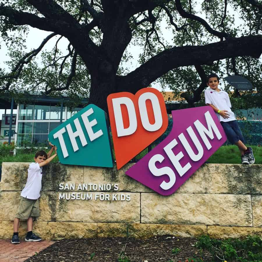 The DoSeum had my kids running, doing and tinkering across this interactive space. San Antonio,
