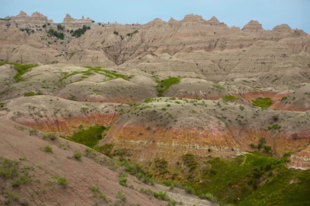 Badlands National Park, Black Hills for kids, South Dakota,
