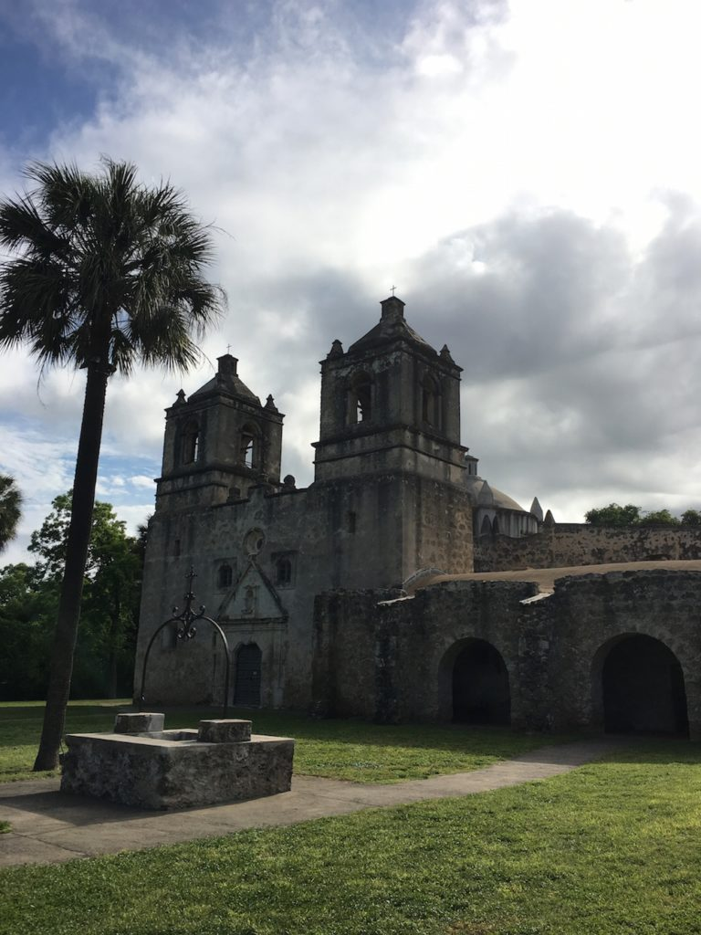 Mission Conception is the oldest unrestored stone church in North American according to the National Park Service.
