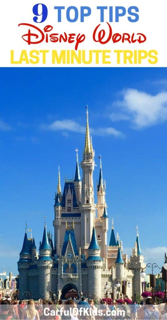 Got 9 of the best tips to plan a trip to Orlando's Walt Disney World with tip for getting a room to saving money.