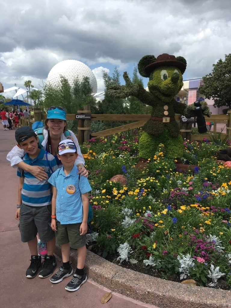 Walt Disney World, Epcot, Mickey Mouse,