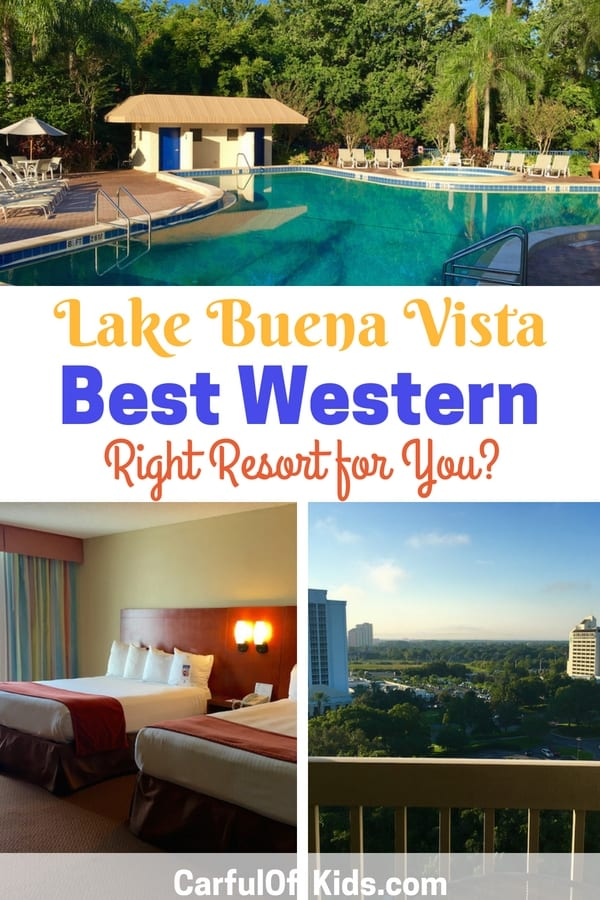 Planning a vacation to Walt Disney World? Disney Springs offers lots of shopping and dining after a day in the parks. Is the Best Western Lake Buena Vista Resort right for your family?