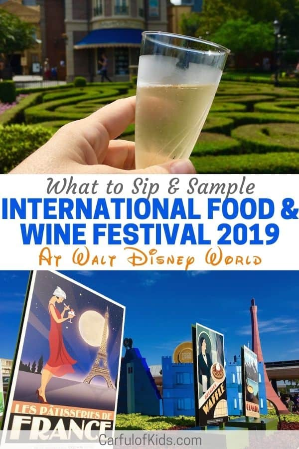 Take a day off and sip and savor your way across Epcot's World Showcase. With more countries to explore, find a new favorite flavor. Get all information on what's new for 2019, including the bands and flavors. #Epcot #DisneyWorld
