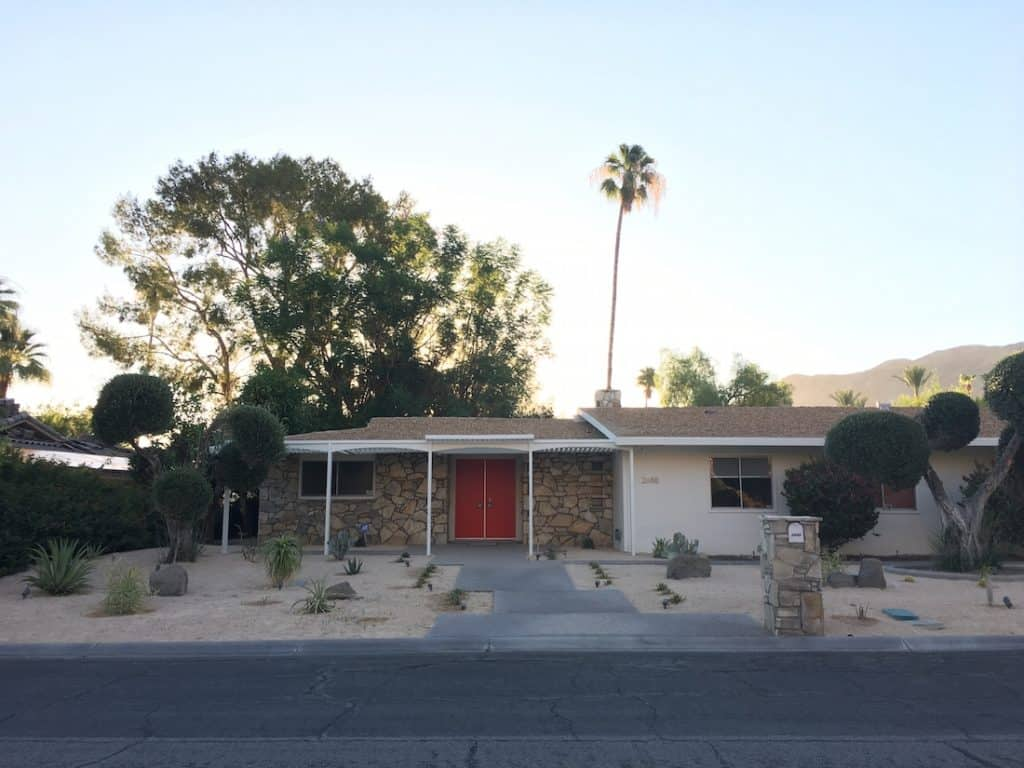 Spend the night in Disney's desert home, Walt Disney Technicolor Dream House, Walt Disney's Palm Springs home you can rent, ultimate getaway for disney fans,