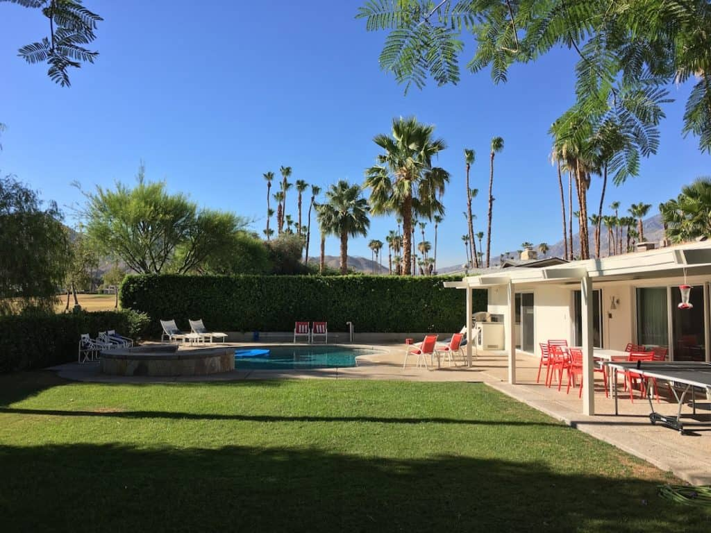 Walt Disney's House in Palm Springs, ultimate place to stay for Disney nerds, Disney's Palm Springs Home for rent,