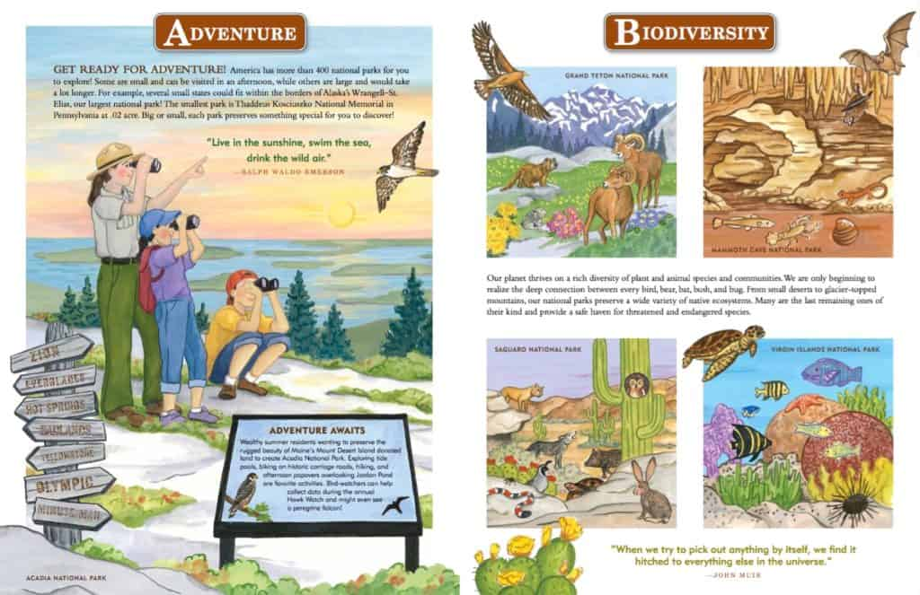 National Parks Books For Kids Carful Of Kids