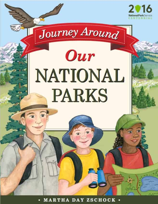 Martha Day Zschock wrote a pair of charming national parks books for kids.