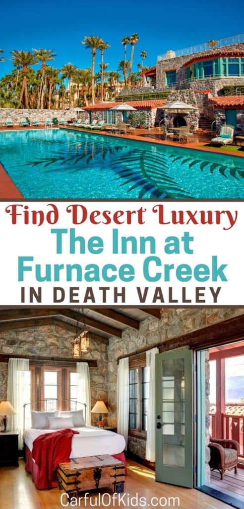The Inn at Furnace Creek offers AAA four-diamond luxury at the lowest point of North America in Death Valley.