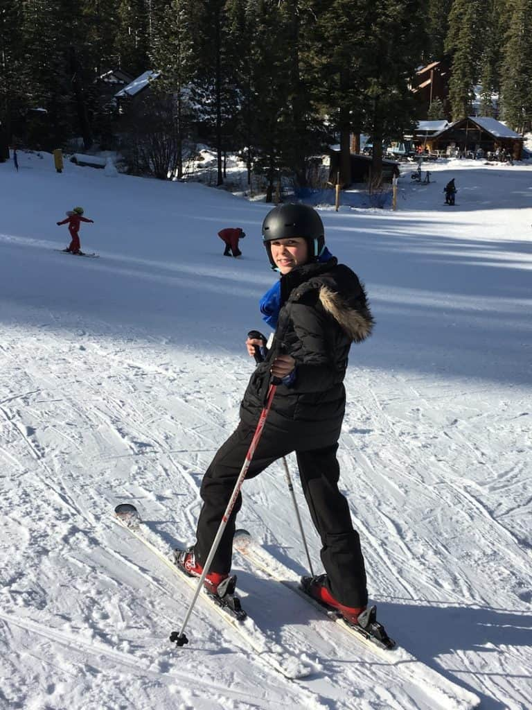 Granlibakken in Lake Tahoe offers a crazy fast sledding hill