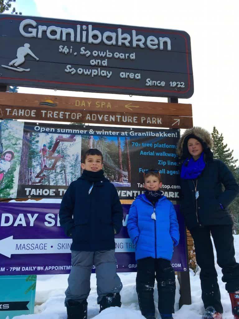 Granlibakken offers one of the fastest sled hills in Lake Tahoe
