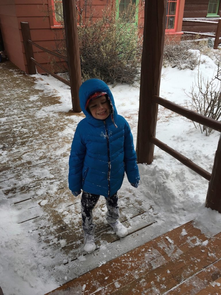 Explore Grand Canyon in winter with your family.