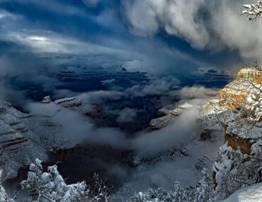 Explore a Snow Kissed Grand Canyon in Winter