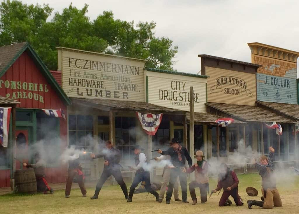 Dodge City Kansas and Boot Hill museum tops the list for family fun.