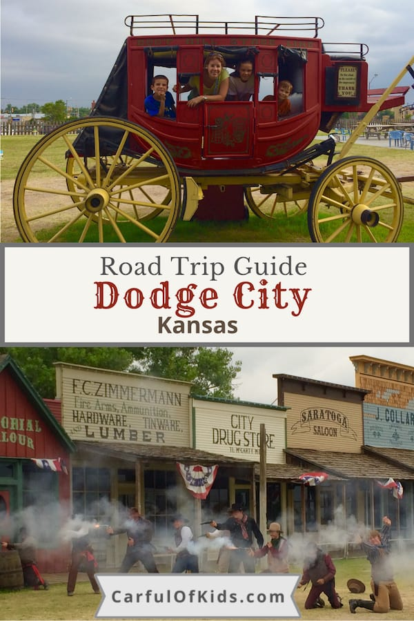 Head to Dodge City, Kansas, for road trip fun with the family. Find all the details for summer visits in this guide. #DodgeCity #Kansas What to do in Kansas | What to do at Dodge City | Road Trip Stops in Kansas