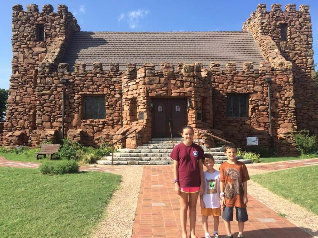Stop by the Holy City of Wichita when you explore Lawton with kids.