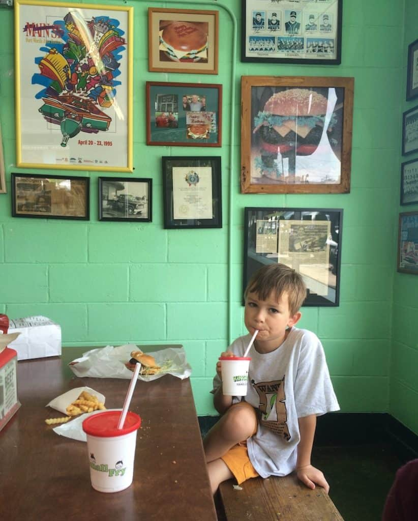 Kincaids Hamburgers in Fort Worth offers juicy burgers at the original location.