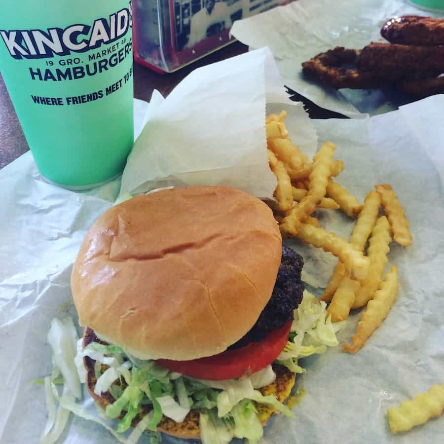 The original Kincaids in Fort Worth makes a juicy burger.