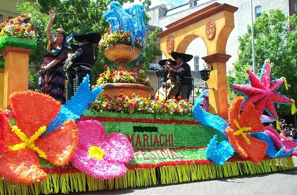 Fiesta San Antonio Battle of Flowers Parade is a good choice for families.