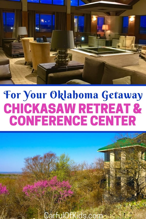 Chickasaw Retreat and Conference Center in Sulphur, Oklahoma, offers over 1,750 acres of mountain views, along with a wellness center. Read on for lots of photos and a video review of this retreat in the Arbuckle Mountains of Southern Oklahoma.
