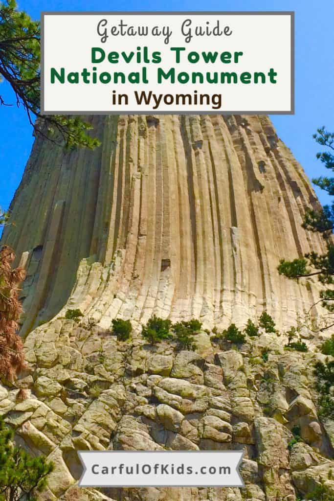 Visit Devils Tower National Monument in Wyoming. Here's all the details like what to do, where to hike, and where to stay while exploring this national treasure. #NationalParks #NPS #Wyoming #DevilsTower What to do in Devils Tower | Where to stay near Devils Tower | Road Trip Stops in Wyoming